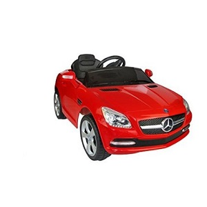 Mercedes Benz SLK Class 6V Kids Electric Ride On Car, Red