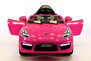 Porsche Boxster Style 12V Ride On Electric Car For Kids